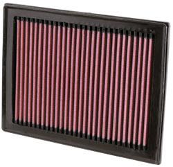 >K&N Filtro de aire 33-2409 para Nissan Sentra L4 de 2.5L