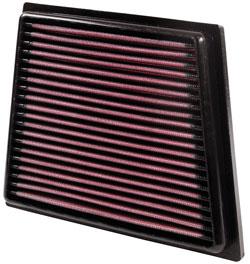 Filtro de aire de K&N para el modelo seleccionado Ford Fiesta, Ford Fiesta VI, Ford B-Max and Mazda 2 1.0L, 1.25L, 1.4L & 1.6L