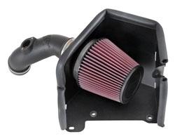 El AirCharger 63-5506 de K&N es una mejora simple, fácil, llave en mano
