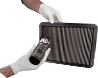 Botella de aceite para panel de filtro de aire