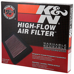 K&N Opel and Vauxhall Astra and Zafira Air Filter