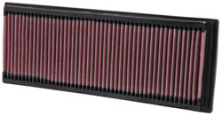Filtro de aire de reemplazo K&N para los modelos de Mercedes-Benz Clase G, Clase S, Clase R, SL y Clase SLK, GL y Clase GLK y Clase C