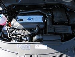 Bahía de motor con K&N Filtro de aire 33-2865
