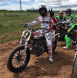 Jared Mees espera con anticipación el inicio de la carrera de Harley Davidson en Pista Plana en los X Games de este año.