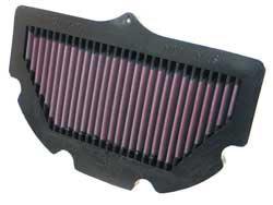 K&N SU-7506 filtro de aire de reemplazo para 2006-2010 Suzuki GSXR600