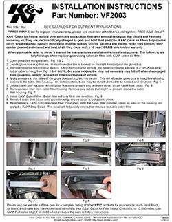 Instrucciones de Uso del Filtro de Aire de Cabina Toyota Corolla