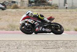 """GSXR600 en la carrera """"C"""" Superstock"""
