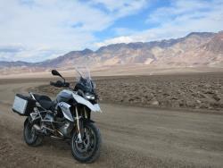 El BMW R1200GS en el Valle de la Muerte