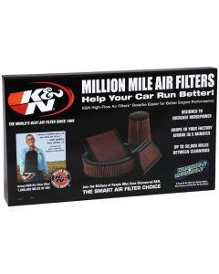 87-11613 K&N POP; Pantalla de filtro de aire; sin filtro
