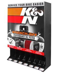 87-11614 K&N Dispensador; Filtro de aceite K&N, Powersports