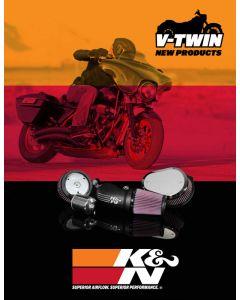 89-11553 K&N POP; folleto de American V-Twin