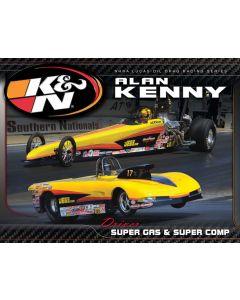 89-11641 K&N Hero Card; Alan Kenny, 8-1/2 x 11