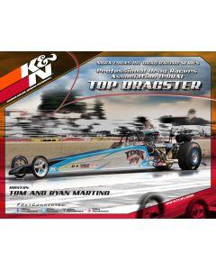 89-11644-15 K&N Hero Card; Tom/Ryan Martino, 8-1/2 x 11