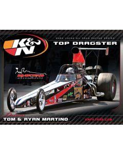 89-11644 K&N Hero Card; Tom/Ryan Martino, 8-1/2 x 11