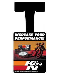 89-11824-09 K&N Repisa Wobbler; Deportes Motorizados, 2009