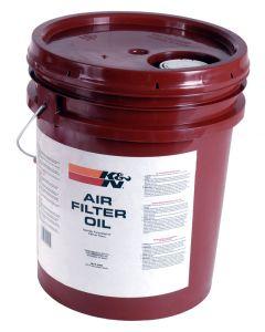 99-0555 K&N Aceite filtro de aire - 5 gal.