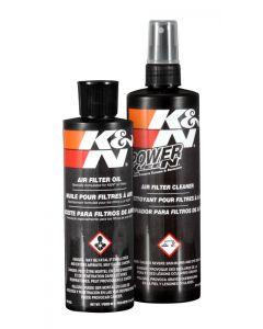 99-5050 K&N Kit de servicio de cuidado del filtro - formato de botella roja exprimible
