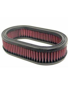 E-3442 K&N Filtro de aire ovalado